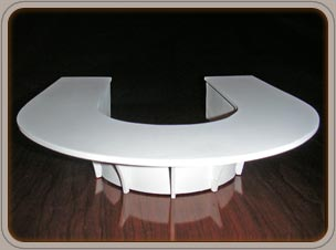 custom conference tables - Honduran Mahogany